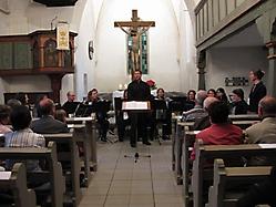 Akkordeonkonzert in der Oferdinger Clemenskirche am 09.05.2009