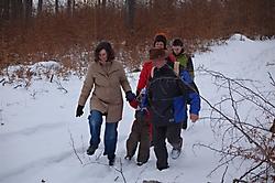 Halbtageswanderung: Uff der Alb im Winter